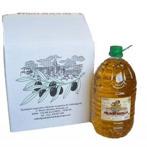 Caja aceite oliva Palacio Andilla