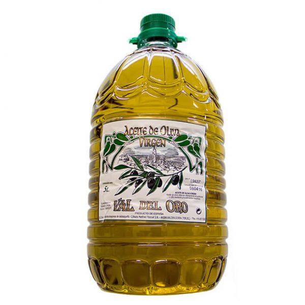 aceite de oliva virgen Val de Oro 5L