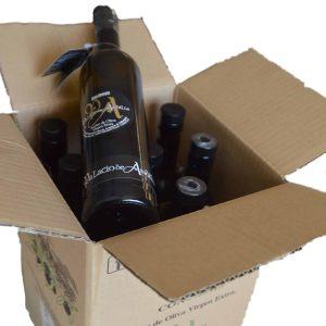 palacio andilla botella negra grande caja