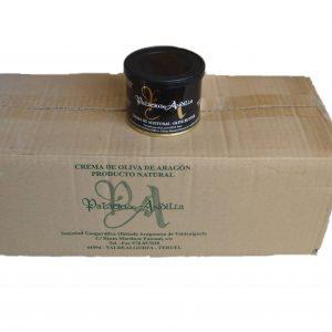Paté de oliva negra caja 20 unidades