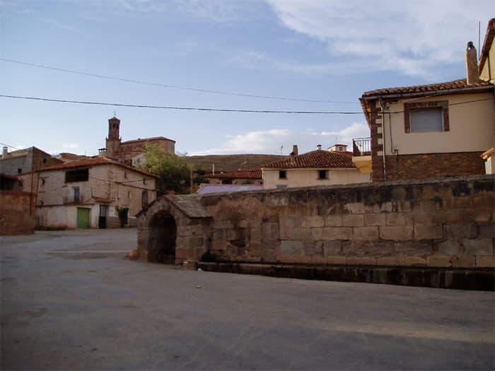 Aguilar de Alfambra casco urbano
