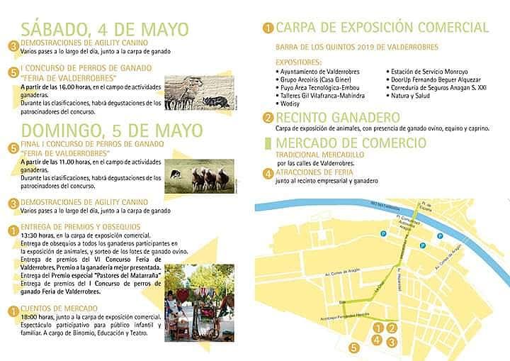 Feria de Valderrobres de mayo actividades